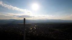 The cross over Blagoevgrad, #Bulgaria
