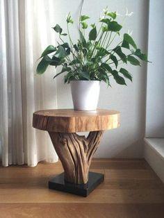 São peças únicas e extremamente lindas Driftwood Furniture, Ikea Furniture, Wooden Furniture, Furniture Projects, Antique Furniture, Furniture Cleaning, Outdoor Furniture, Furniture Online, Furniture Stores