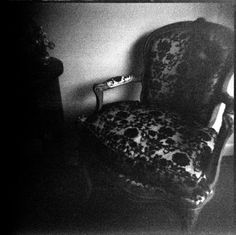 The haunted chair of death (North Yorkshire, UK). They say if you sit in it even for a moment death will soon follow.