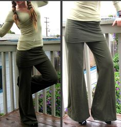 Chill Realm Pratique Yoga Pants by HerbanDevi on Etsy, $62.00