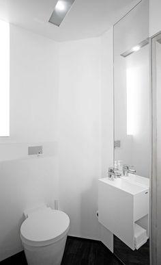 innenarchitektur badezimmer boden weisse pu beschichtung wände, Hause ideen
