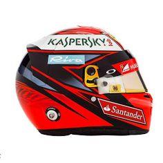 #F1 2016 helmet designs - Sebastian Vettel and Kimi Raikkonen