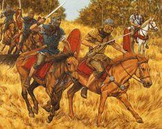 HISTORIA PARA NO DORMIR: COSAS DE ROMANOS : La campaña de Agricola en Caledonia.