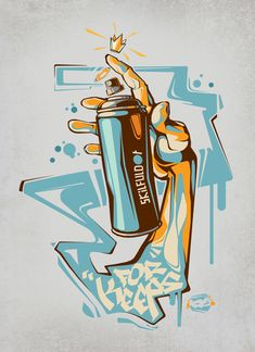 Illustration on behance - key detail - for keeps graffiti lettering, graffiti art, graffiti Graffiti Drawing, Graffiti Lettering, Street Art Graffiti, Art Drawings, Graffiti Tattoo, Arte Do Hip Hop, Graffiti Characters, Dope Art, Illustrations And Posters