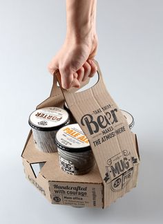 "MUG pub ""The new cup combines the form of the traditional beer pint and usability of recyclable paper cups"""