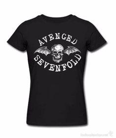 Camiseta de chico M/C AVENGED SEVENFOLD - talla L