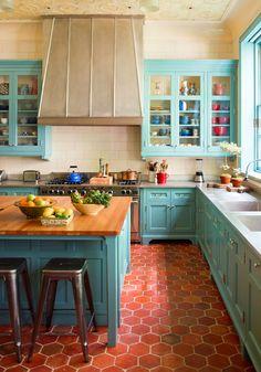 houseofturquoise - tasarım mutfaklar