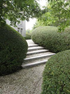 strakke tuin ontwerp