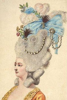 18th century hairdo