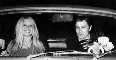Brigitte Bardot Alain Delon , in public - Alain Delon Images ...
