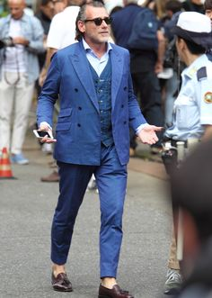 Old Man Fashion, Italian Street, Suit Jacket, Vest, Wide Pants, Timeless Elegance, Gentleman Style, Fashion Company, Style Icons