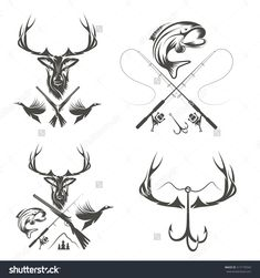 image.shutterstock.com z stock-vector-set-of-vintage-hunting-and-fishing-labels-and-design-elements-217170343.jpg