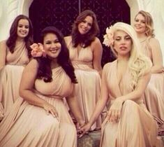 Get Lady Gaga's bridesmaid dress for under $100 at Vow To Be Chic!