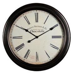 Horloge Chocolate, 59.99€ chez Maisons du Monde