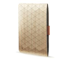 Geometric Wooden iPad and Macbook Sleeves from Grove in technology  Category