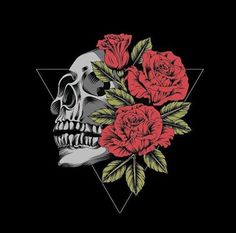 None of these images are mine =) Cool Drawings, Tattoo Drawings, Body Art Tattoos, Skull Wallpaper, Rose Wallpaper, Gothic Wallpaper, Frida Art, Skeleton Art, Skulls And Roses