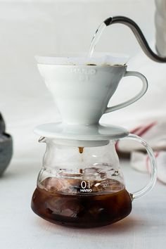 The perfect gift for any coffee lover, Hario sets the standard when it comes to brew-at-home coffee equipment. This particular set contains a transparent black V60 (pictured above), 40 filters and a 15g measuring spoon. All you need to do is add some CRU KAFE coffee!