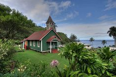 Maui country church by Eric Luck