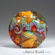 Astrid Riedel's glass bead