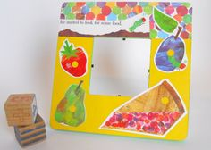 Photo Frame  The Very Hungry Caterpillar by BookwormCreations, $18.00