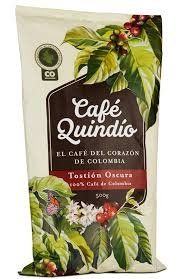 Coffee Quindio Traditional Dark Roasted 500 gr, oz Coffee from the Heart of Colombia Arabica Coffee Beans - Food - Kaffee Coffee Type, Coffee Pods, Coffee Shop, Arabica Coffee Beans, Fresh Coffee Beans, Vanilla Iced Coffee, Espresso Coffee, Coffee Branding, Coffee Packaging
