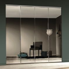 Frameless Mirror Bifold Closet Doors Regarding Size 1000 X 1000