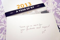 a year of NY and a small donation to victims of hurricane sandy.
