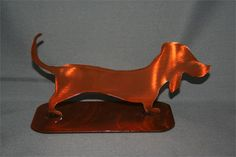 Dachshund Garden Critter. I picked this up in Old Town New Mexico for $19.00
