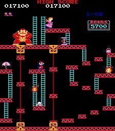 Donkey Kong...I was so bad at this game!