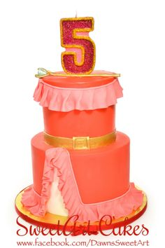 Birthday cake, Elena of Avalor cake