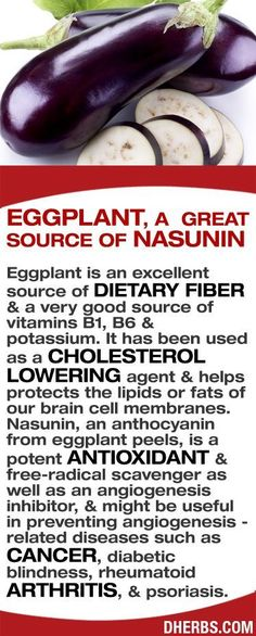 """ A topical eggplant extract has been shown to be very effective for the treatment of skin cancer """