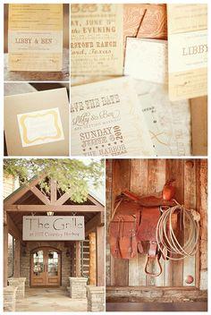 Modern Country Designs: Modern Country Texas Wedding beautiful!!