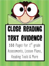 """Updated pages of intense instruction addressing of the Second Grade Literature and Informational Text CCSS. With text complexity increasing during this new Common Core era """"Close Reading"""" is critical. Over 50 Reading Response sheets included. Close Reading, Guided Reading, Teaching Reading, Teaching Ideas, Learning, Reading 2014, Reading Tutoring, Reading Help, Teaching Tools"""