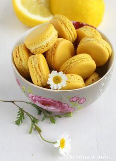 De vous à moi...: Macarons au Citron