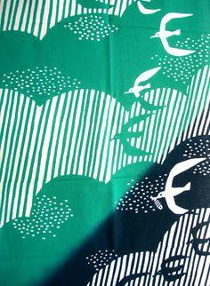 kata kata Japanese Patterns, Japanese Fabric, Japanese Art, Textile Patterns, Textiles, Silk Screen Printing, Printing On Fabric, Hand Painted Fabric, Repeating Patterns
