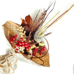 Купить Осенний букет. Необычный подарок. Букет из сухоцветов.. - букет, букет…