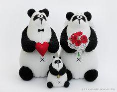 панды. свадьба