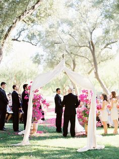 Beautifully draped altar. Photography by josevillaphoto.com, Event Design and Planning by bethhelmstetter.com, Floral Design by hollyflora.com