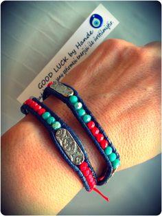 GLbyH handmade wrap bracelet