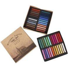 Giz Pastel Para Pintar Cabelo - 48 Cores - Cosplay - R$ 99,90 no MercadoLivre