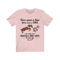 Once Upon A Time There Was A Girl Who Really Loved Cats And image 3 Equestrian Outfits, Equestrian Style, Mare Horse, Horse Gifts, Horses And Dogs, Pretty Horses, How To Roll Sleeves, Jersey Shorts, Cute Shirts