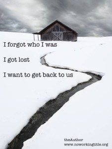 I want to get back to us  I forgot who I was   I got lost   I want to get back to us   The post  I want to get back to us  appeared first on  No Working Title .  #poetry #drjohnaking  http://noworkingtitle.org/want-get-back-us/