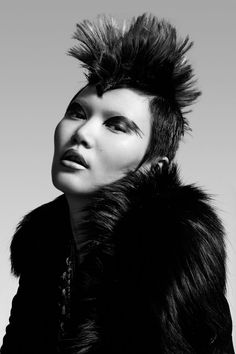 ASIAN MODELS BLOG: Gwen Lu Editorial Model: Gwen Lu (Major) Editorial: Black Swan Magazine: Unknown Photographer: Jeff Tse Stylist: Ise White Hair: Menelaos Alevras Makeup: Regina Harris  Source: Fashion Gone Rogue