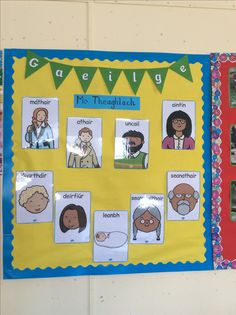 Mo Theaghlach Class Displays, Classroom Displays, Classroom Ideas, Best Teacher Poems, Acrostic Poems, Childcare Rooms, 6 Class, Irish Language, European Languages