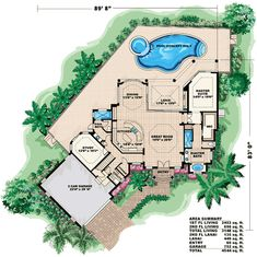 spanish style home plans - Buscar con Google