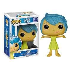 This is a Joy POP Vinyl figure that is produced by Funko. Joy is one of the great characters in Disney Pixar's newest animated film, Inside Out. Super cool! The movie was excellent and it's great to s