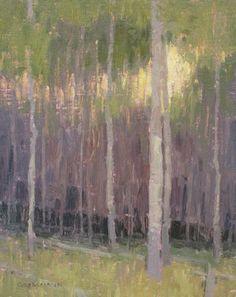 """""""Forest Edge at Dusk"""" by David Grossmann"""