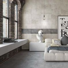 Zabrini Charcoal Concrete Effect Tiles Kitchen Wall Tiles, Bathroom Floor Tiles, Kitchen Flooring, Slate Effect Tiles, Grey Floor Tiles, Porcelain Tile Cleaner, Wall Tile Adhesive, Underfloor Heating Systems, White Wall Tiles