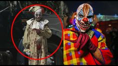 Top 5 SCARY KILLER CLOWN SIGHTINGS Part 2