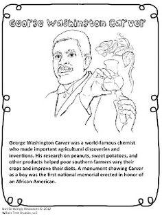 George Washington Carver Writing Paper